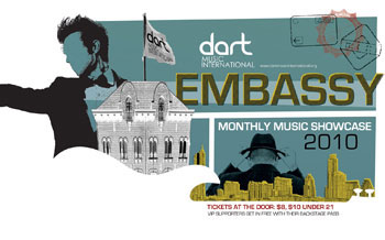 Dart Music International Embassy Poster